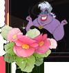 Колдунья и розовый цветок