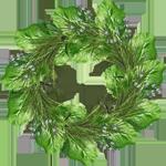травяной венок